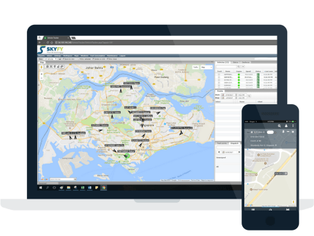 Skyfy Technology GPS tracking portal