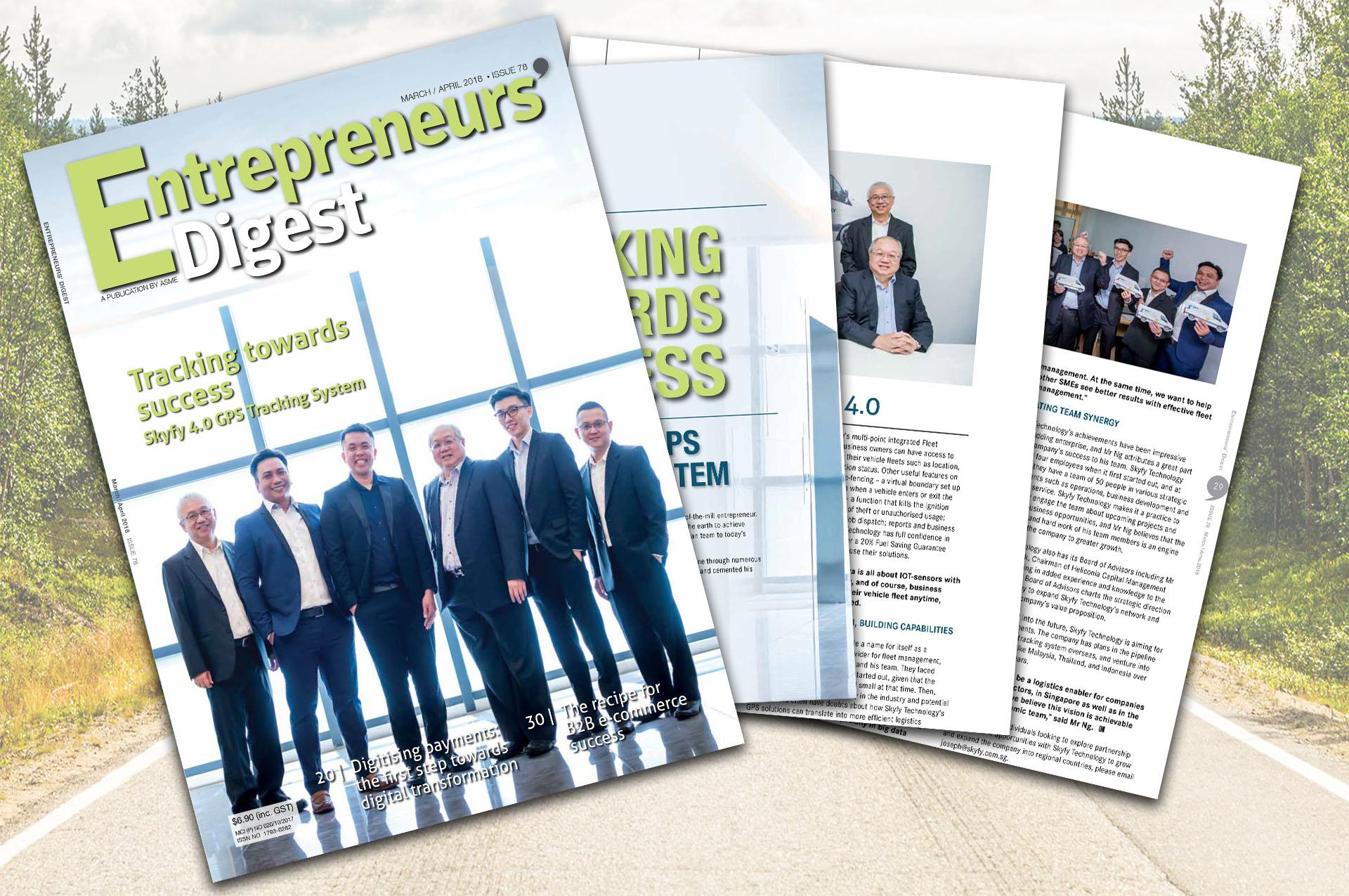Skyfy ASME Entrepreneur Digest