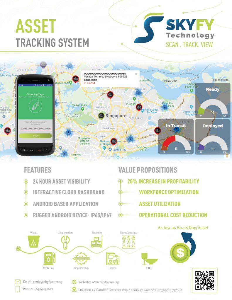 Waste Management Tracking Solution Brochure Skyfy